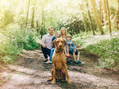 Outdoor family photo shoot Cirencester