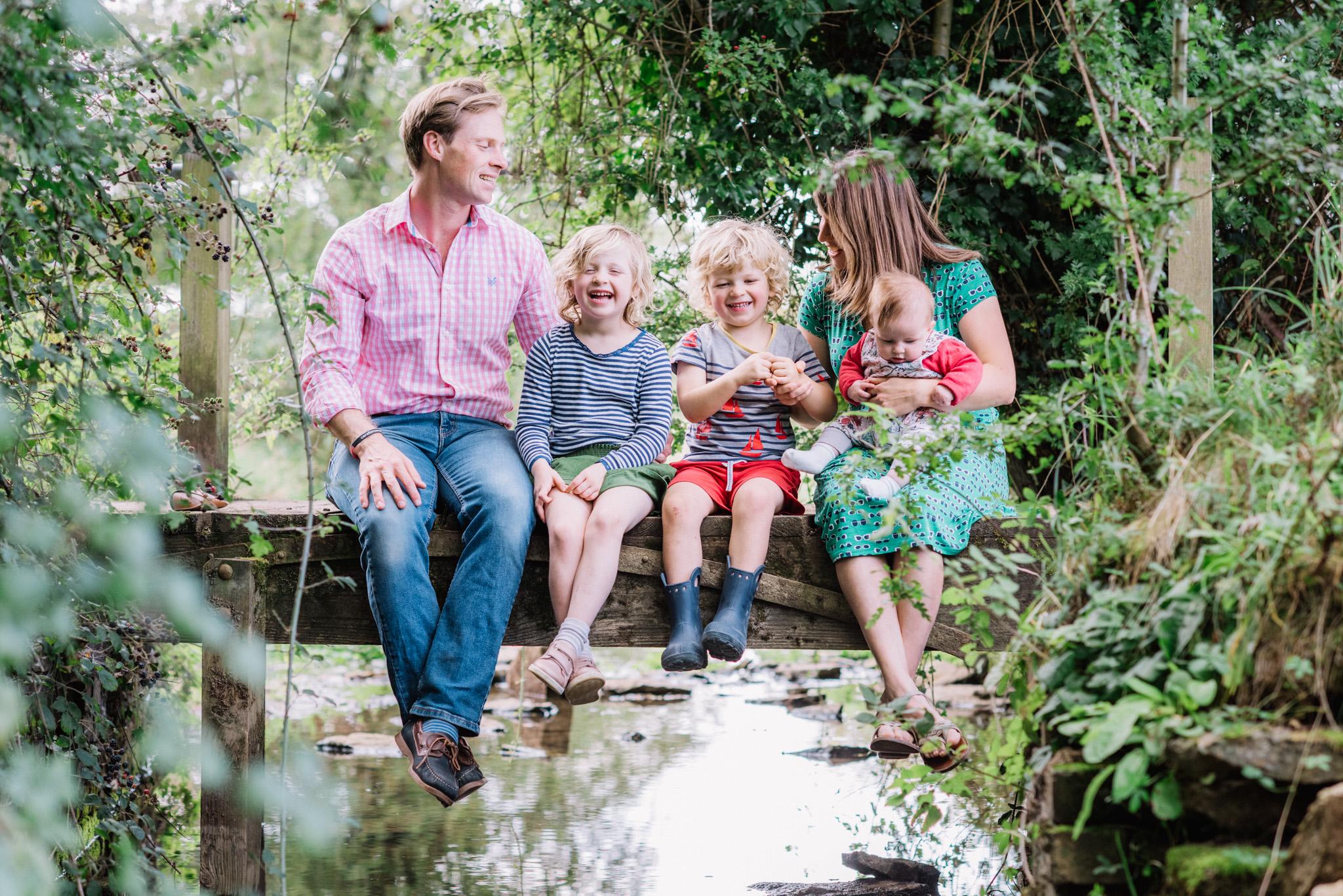 summer family photo shoot